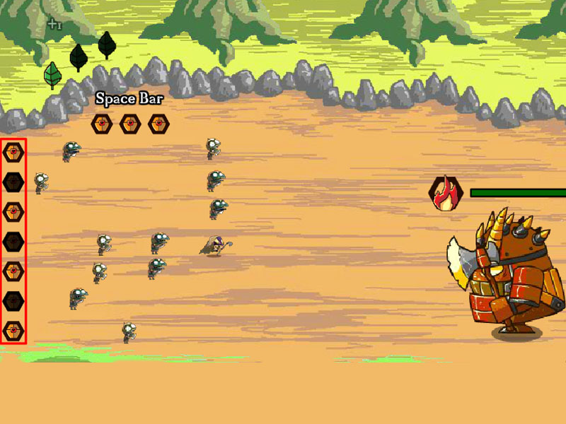 tiny monster war free games